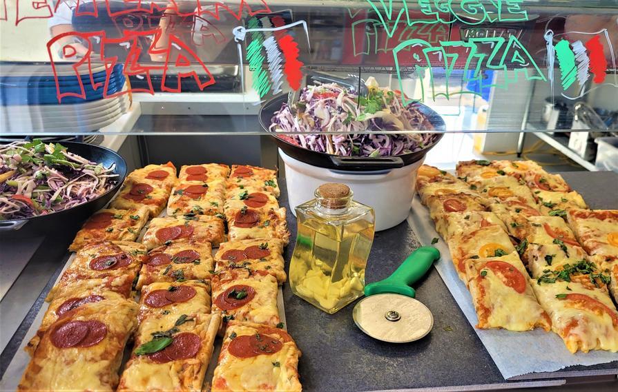 Week 2 Tuesday Pepperoni or Mozzarella Pizza