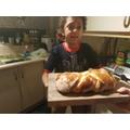 Josh's challah bread