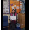 This week's maths challenge winner