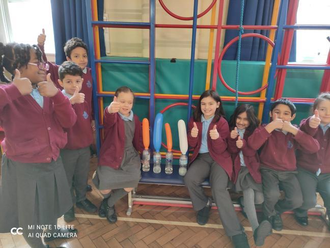 Year 3 children at school