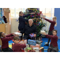 Parkgate Junior School have been making gift boxes for Age UK