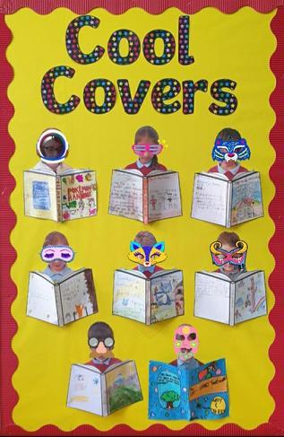 2021 Re-Create a Favourite Book Cover (winners)