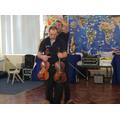 A violin or a viola?