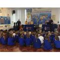 Key Strings entertaining the children