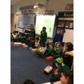 We enjoyed investigating through enquiry