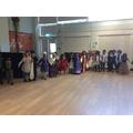 Tudor dancing!