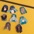 Finger puppet penguins