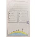 We created a holiday fact file using our seaside knowledge