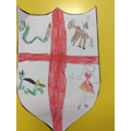We created shields for St George