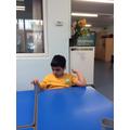 Exploring different materials.