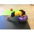 Balance on a ball