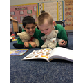 We have fun reading our favourite stories together