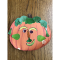 We created our own fruit faces in the style of Arcimboldo