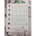 Our spring acrostic poems