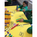 Making numbers using place value