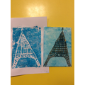 Our prints were of buildings from around the world