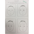 We also thought about how emotion can be shown in portraits