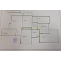 Next we made a simple plan of our school and followed a route using our plans