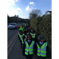 We had lots of fun on our walk of the local area