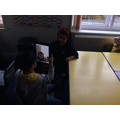 Using iPads to take our own portraits