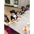 Our Tudor Banquet was lots of fun!