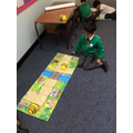 We had to give the beebot instructions