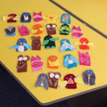 We loved making our finger puppets!