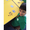Making amounts using 10p and 1p coins