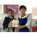 We worked together to make Tudor houses