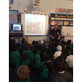 Visit from Pete Griffin.