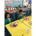 Making the lighthouse keeper's lunch