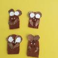 Finger puppet mice