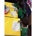 Writing rainbow sentences