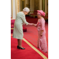 Dame Elizabeth with Her Majesty Queen Elizabeth II