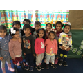 Nursery enter into the spirit of Children In Need