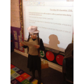 Evacuee Day - Writing a postcard home