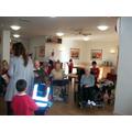Class 6's visit to Alexandra Nursing Home