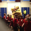 The Dragon dance was great fun to join in