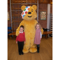 We raised money for Children in Need