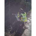 The Eco Team keeping our school clean and tidy
