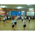 Class 4 learnt an Indian Dance for Diwali