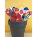 Language spoons and greetings gardens