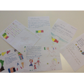 Letters to our partner school in Mali
