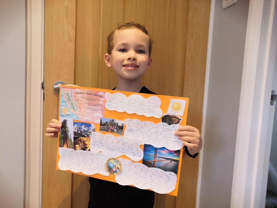 Henry's fantastic California project!