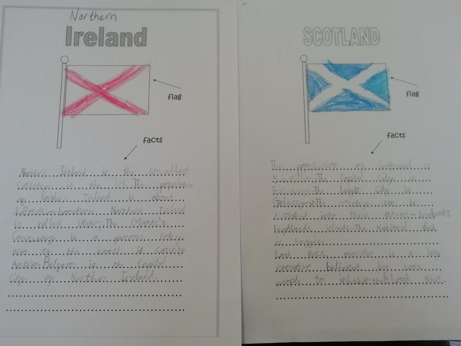 Great Geography skills Sam!
