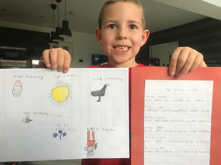 A fab poem Harrison - well done!