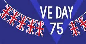 Today marks the 75th Anniversary of VE (Victory in Europe day) let me know what you have planned!