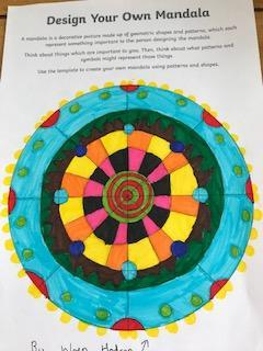 Wren has designed a beautiful Mandala.