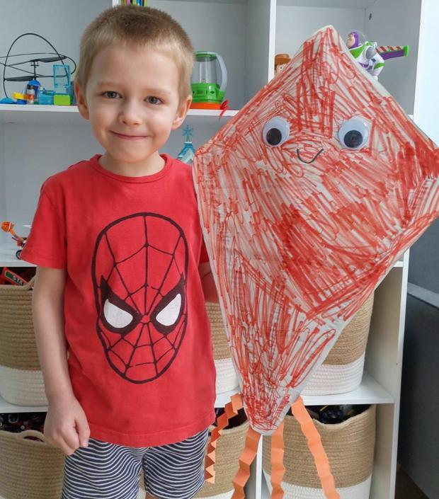 Fabulous kite Harry!