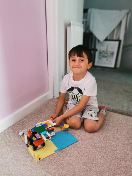 Rafi's Lego house